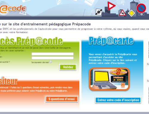 Prépacode : Code en ligne pour réviser à la maison