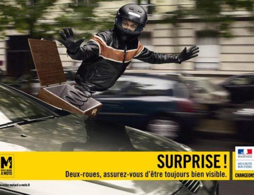 [VIDEO] Sécurité Routière : La moto c'est comme le sexe !