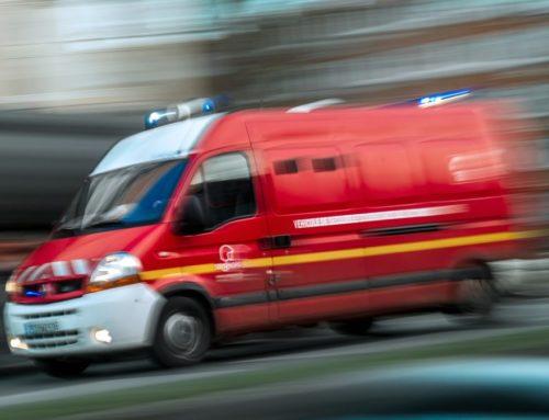 Coincé sous son véhicule après un accident de la route en Haute-Vienne