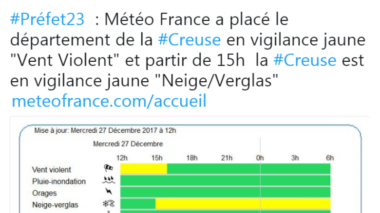 © Préfecture de la Creuse