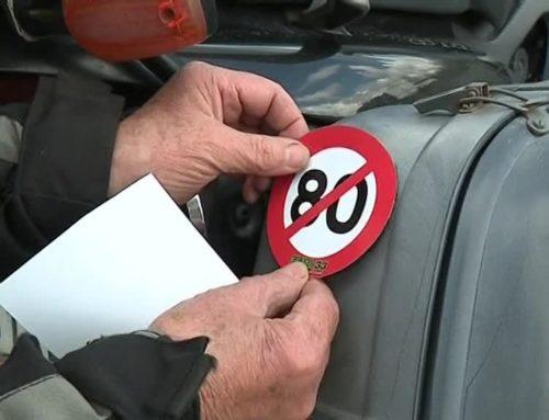 """Contre la limitation de vitesse à 80km/h, plus d'un millier de """"motards en colère"""" en Gironde"""