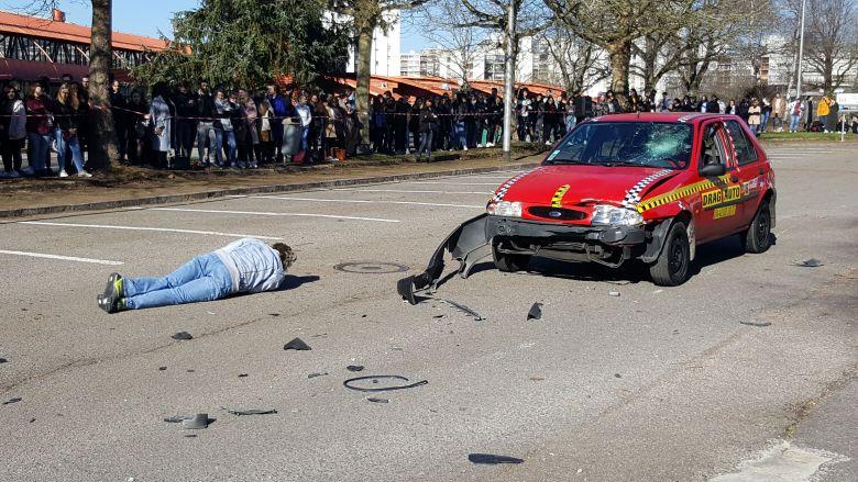 Des crashs chocs tirés de faits réels / © France 3 Limousin, France Lemaire