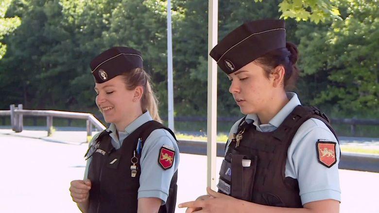 La gendarmerie sait aussi faire dans la prévention douce plutôt que la répression dure... / © France 3 Périgords - Florian Rouliès & Bertrand Lasseguette